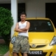 with my car